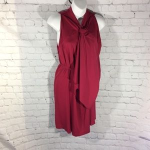 Diane Von Furstenberg Sleeveless Silk Crepe Dress